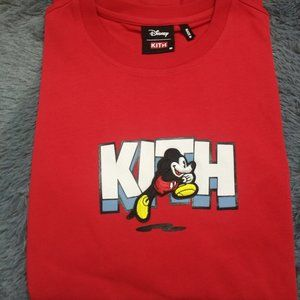 NEW Kith x  Disney Tee shirt